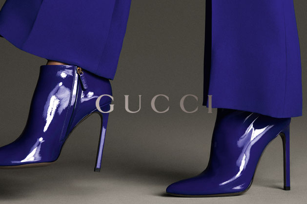 GucciCampaign6 Guccis Spring 2013 Campaign Stars Anja Rubik and Karmen Pedaru by Mert & Marcus