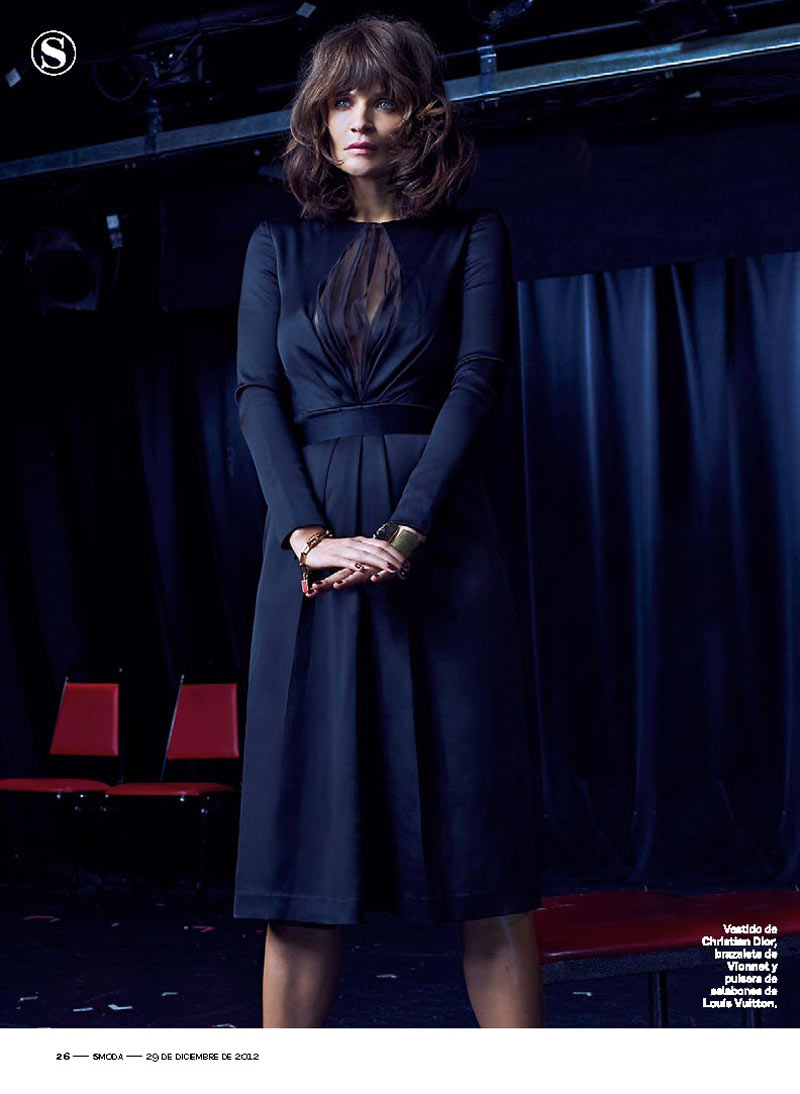HelenaSModa5 Helena Christensen Smolders in S Moda Cover Shoot by Eric Guillemain