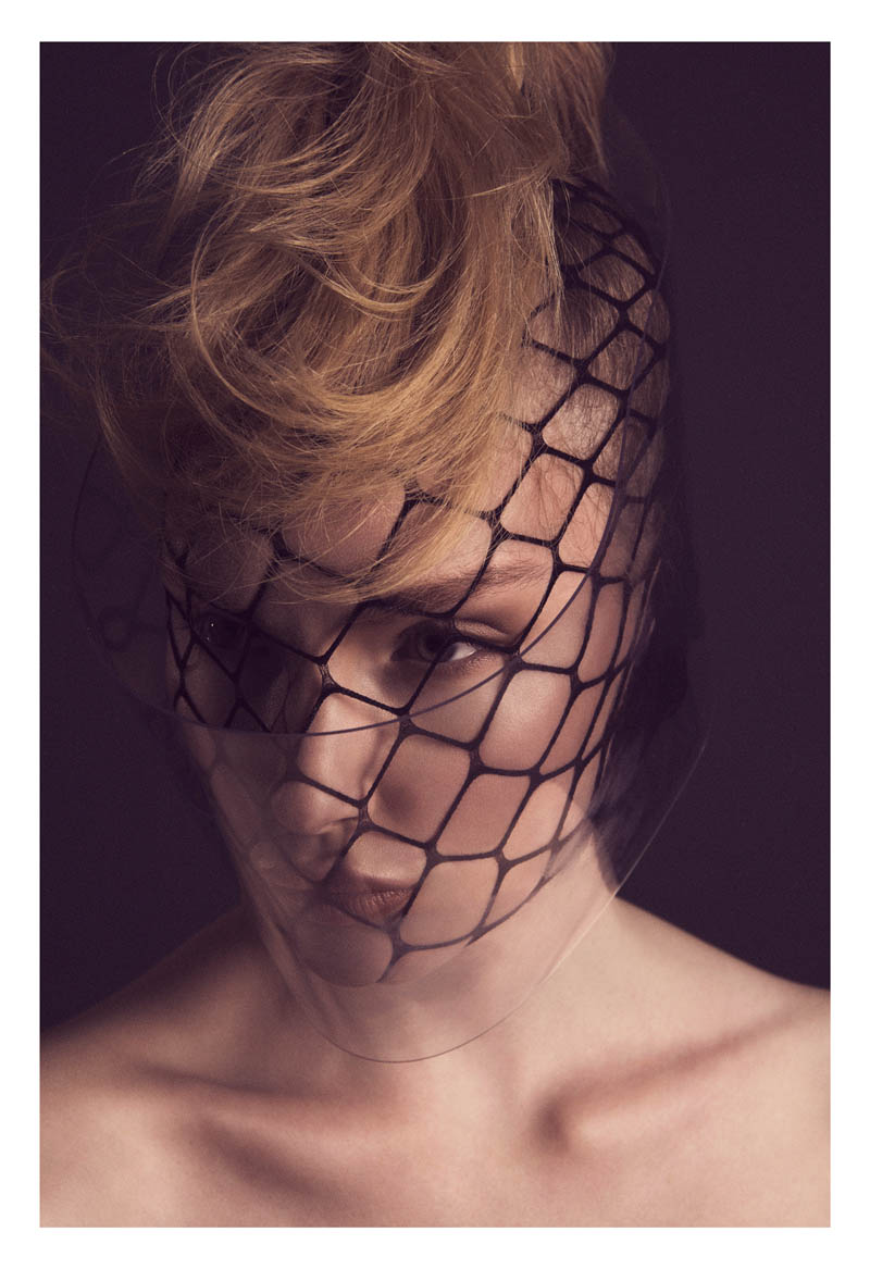 Henrietta Hellberg is a Masked Beauty for Fredrik Wannerstedt