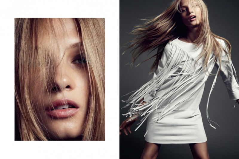 HunkyDoreySS2 800x533 Anna Selezneva Gets Relaxed for Hunkydory Spring 2013 Campaign by Marcus Ohlsson