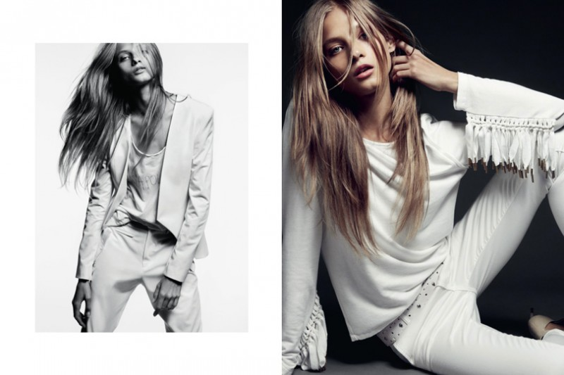 HunkyDoreySS3 800x533 Anna Selezneva Gets Relaxed for Hunkydory Spring 2013 Campaign by Marcus Ohlsson