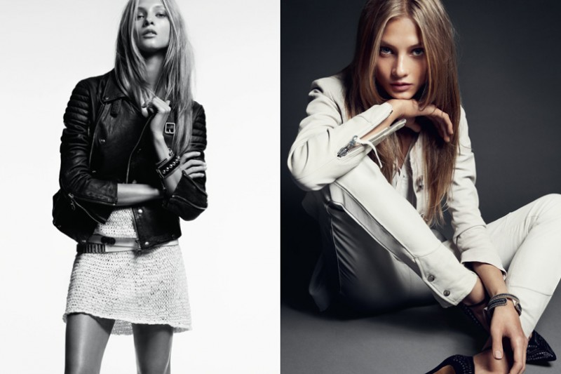HunkyDoreySS5 800x533 Anna Selezneva Gets Relaxed for Hunkydory Spring 2013 Campaign by Marcus Ohlsson