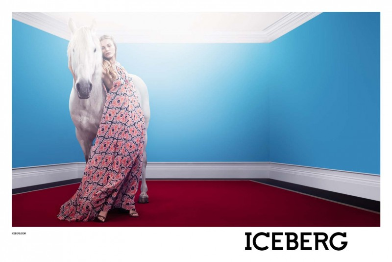 IcebergSpring2 800x534 Edita Vilkeviciute Stars in Icebergs Spring 2013 Campaign by Willy Vanderperre