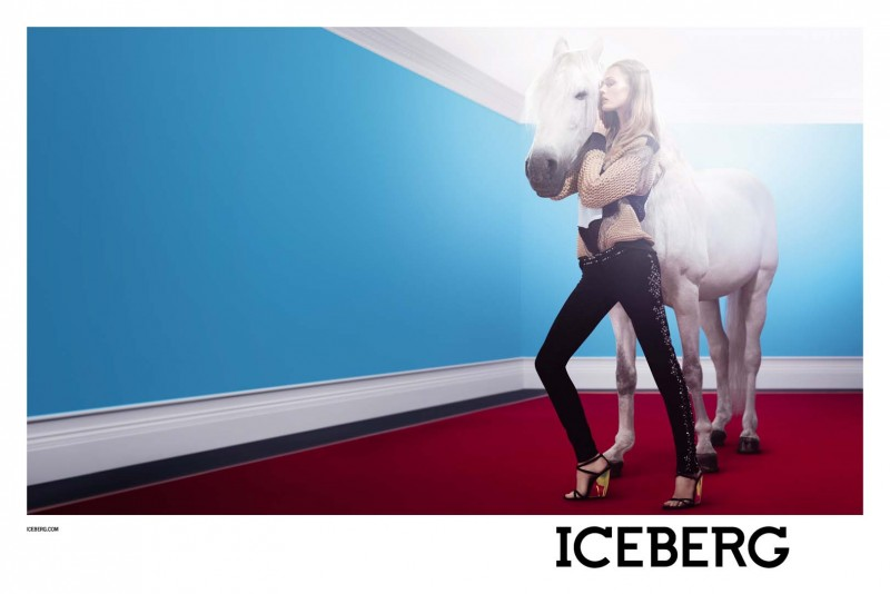IcebergSpring3 800x534 Edita Vilkeviciute Stars in Icebergs Spring 2013 Campaign by Willy Vanderperre