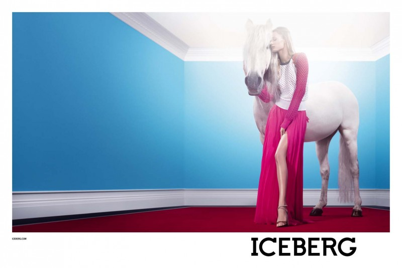 IcebergSpring4 800x534 Edita Vilkeviciute Stars in Icebergs Spring 2013 Campaign by Willy Vanderperre