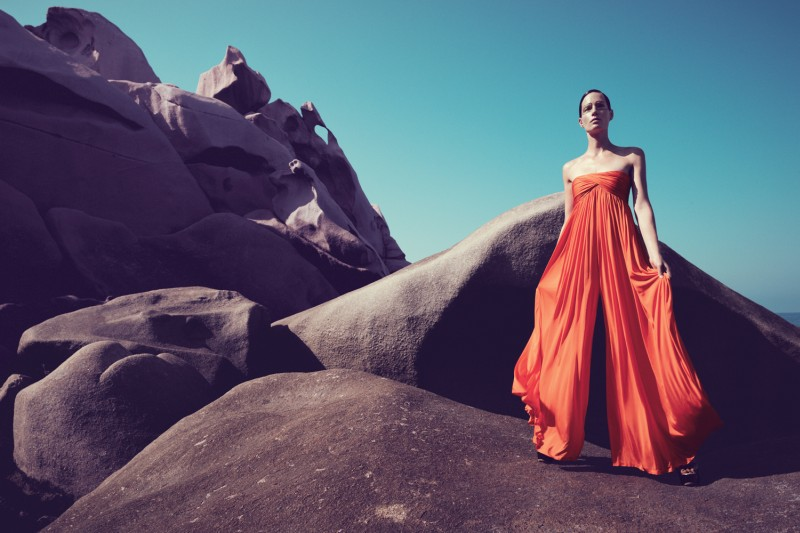IrisBergdorf10 Iris Strubegger Dons the Resort 2013 Collections for Bergdorf Goodman by Sofia & Mauro