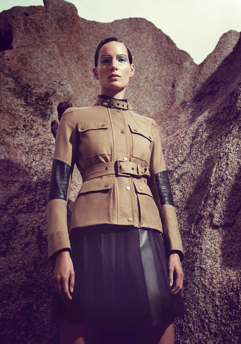 IrisBergdorf12 Iris Strubegger Dons the Resort 2013 Collections for Bergdorf Goodman by Sofia & Mauro