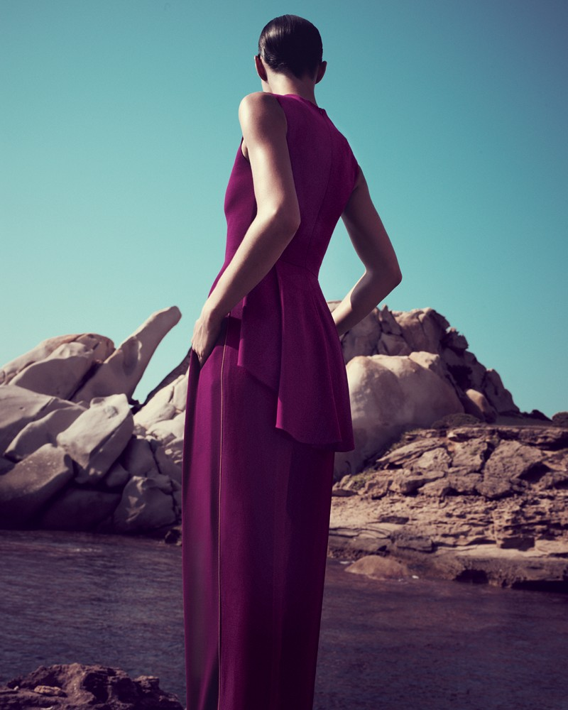 IrisBergdorf13 Iris Strubegger Dons the Resort 2013 Collections for Bergdorf Goodman by Sofia & Mauro