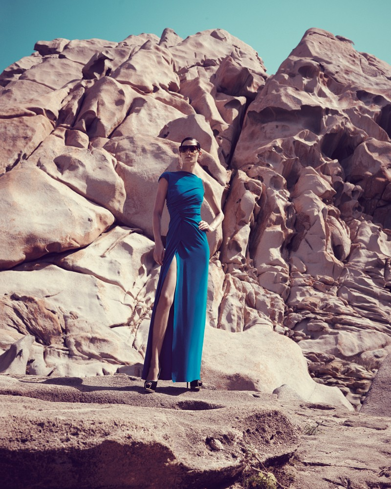 IrisBergdorf15 Iris Strubegger Dons the Resort 2013 Collections for Bergdorf Goodman by Sofia & Mauro