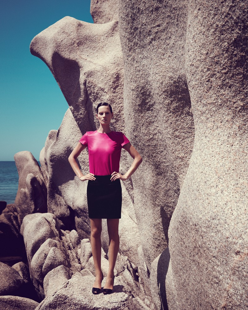 IrisBergdorf18 Iris Strubegger Dons the Resort 2013 Collections for Bergdorf Goodman by Sofia & Mauro
