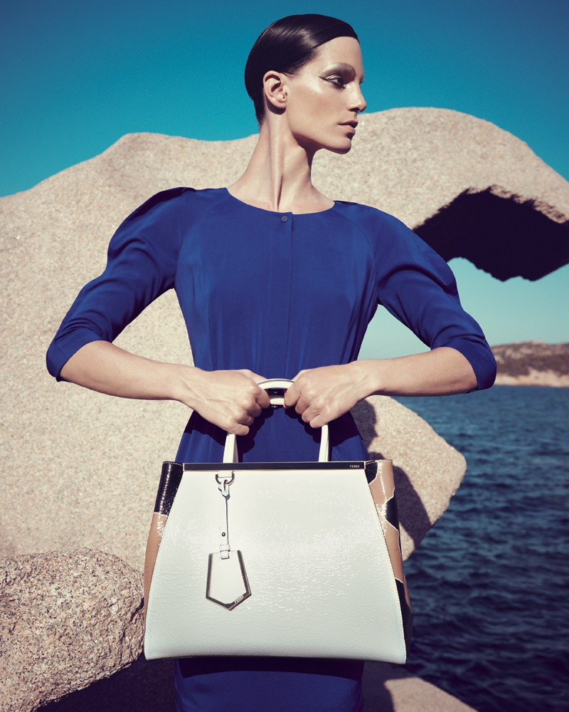 IrisBergdorf19 Iris Strubegger Dons the Resort 2013 Collections for Bergdorf Goodman by Sofia & Mauro