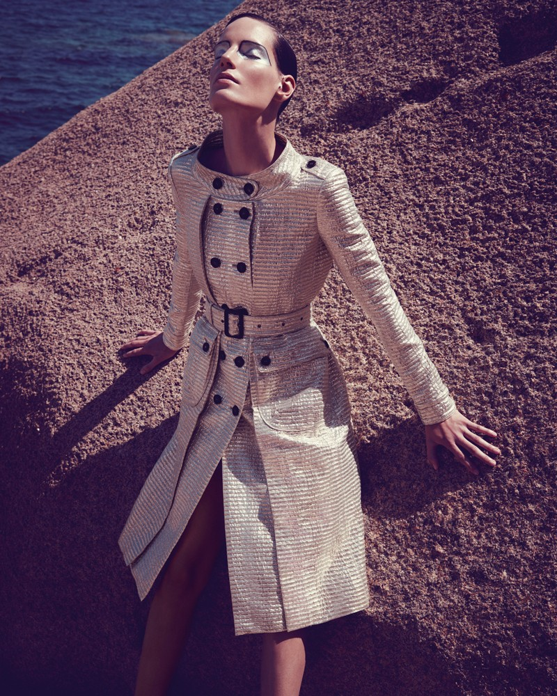 IrisBergdorf2 Iris Strubegger Dons the Resort 2013 Collections for Bergdorf Goodman by Sofia & Mauro