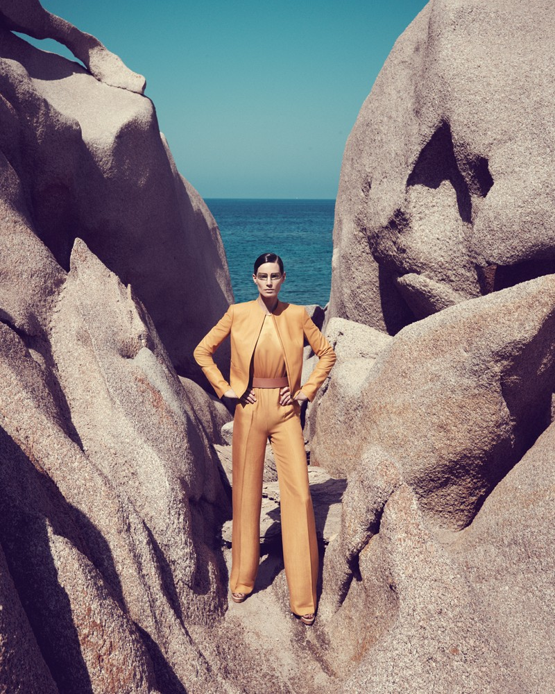 IrisBergdorf24 Iris Strubegger Dons the Resort 2013 Collections for Bergdorf Goodman by Sofia & Mauro