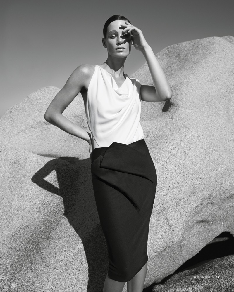 IrisBergdorf5 Iris Strubegger Dons the Resort 2013 Collections for Bergdorf Goodman by Sofia & Mauro