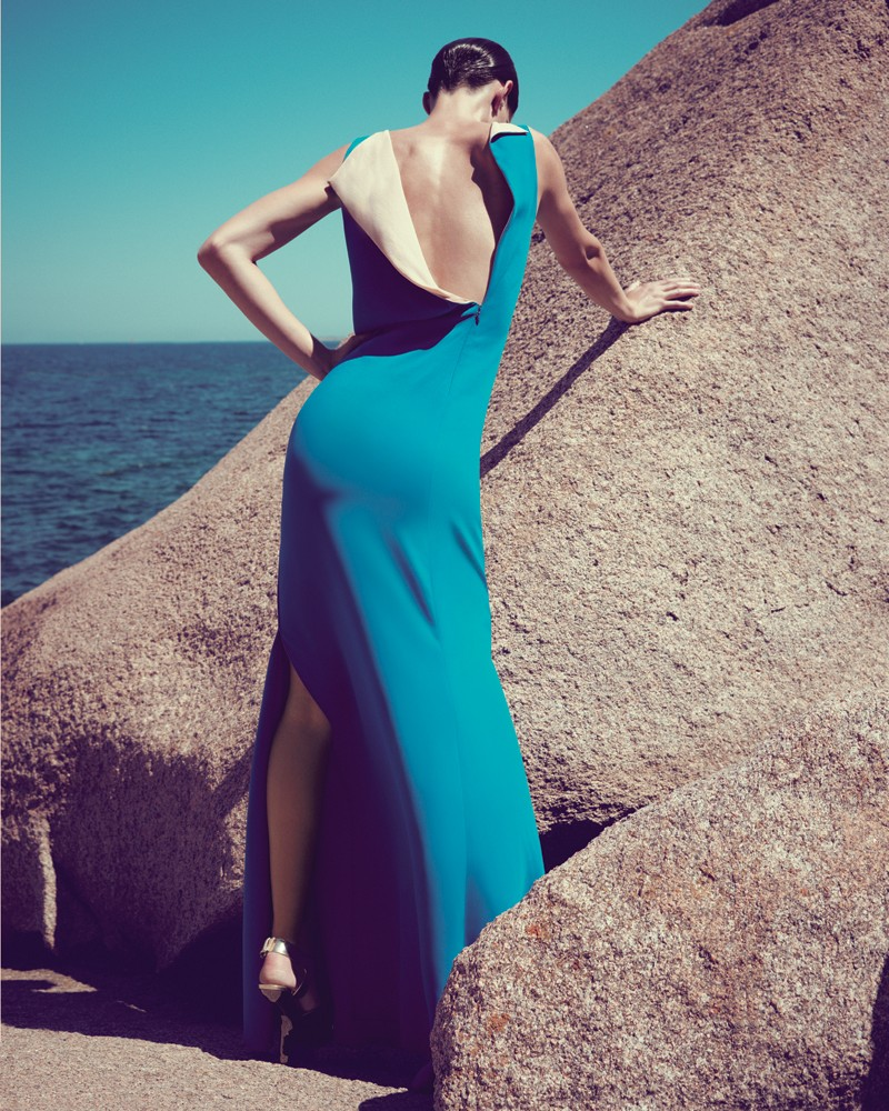 IrisBergdorf6 Iris Strubegger Dons the Resort 2013 Collections for Bergdorf Goodman by Sofia & Mauro