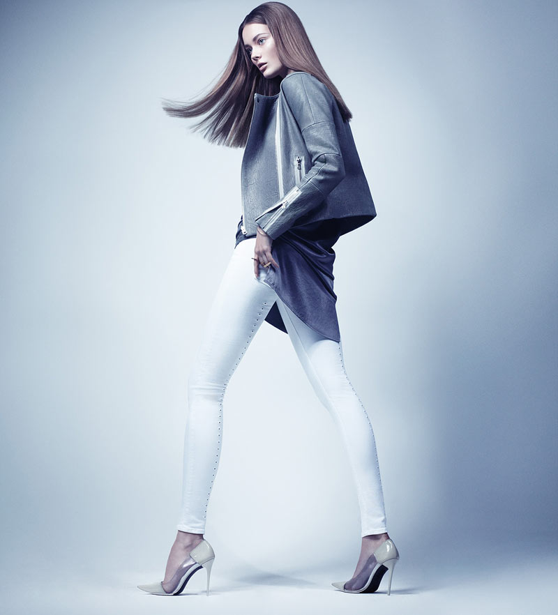 J Brand Taps Jac Jagaciak for its Spring 2013 Campaign by Craig McDean