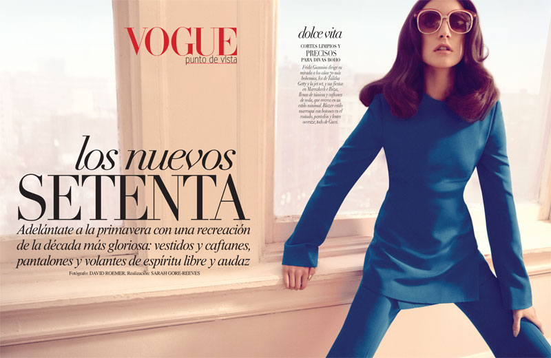 JacquelynVogueLA1 Jacquelyn Jablonski is 70s Chic in Gucci for Vogue Latin Americas January 2013 Cover Shoot