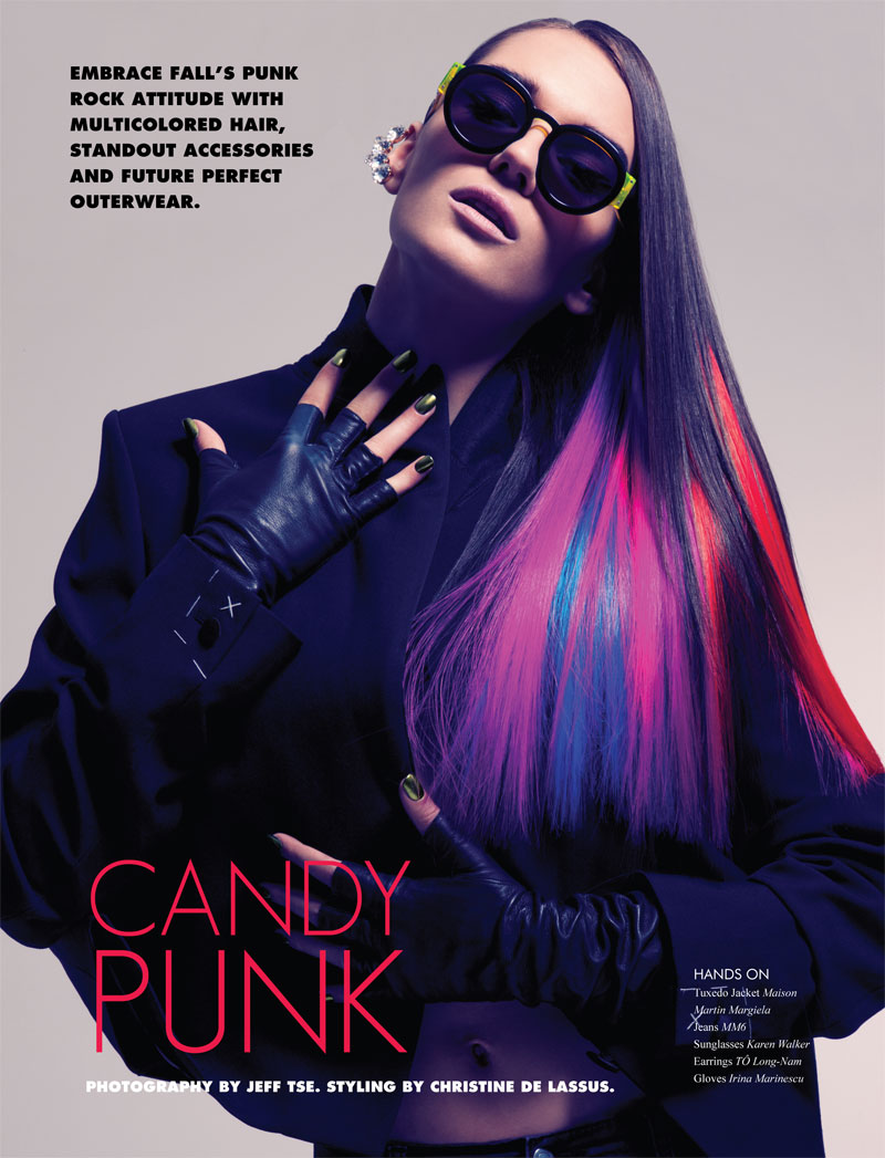 JeffPunk1 Nadya Trofimova by Jeff Tse in Candy Punk for Fashion Gone Rogue Print