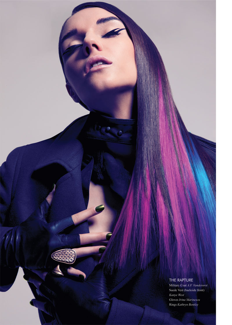 JeffPunk5 Nadya Trofimova by Jeff Tse in Candy Punk for Fashion Gone Rogue Print