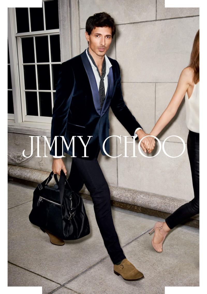 JimmyChooJ2 Jimmy Choo Taps Valerija Kelava for Glamorous Spring 2013 Campaign