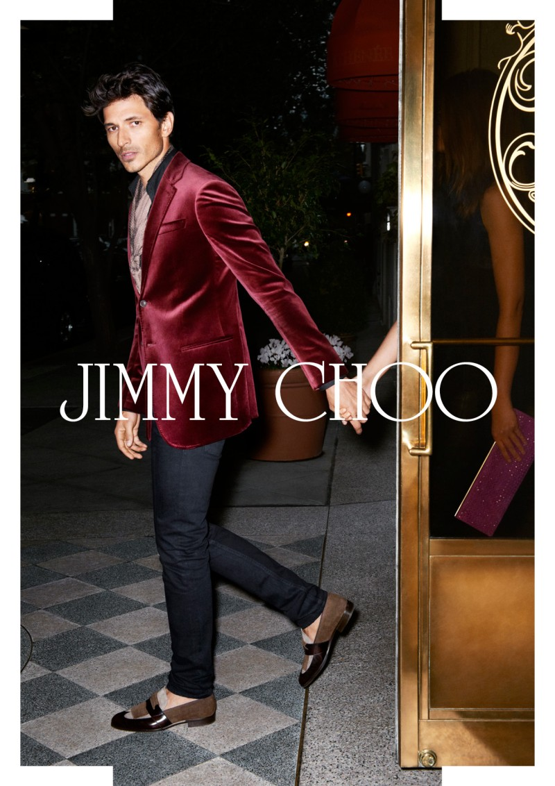 JimmyChooJ6 Jimmy Choo Taps Valerija Kelava for Glamorous Spring 2013 Campaign
