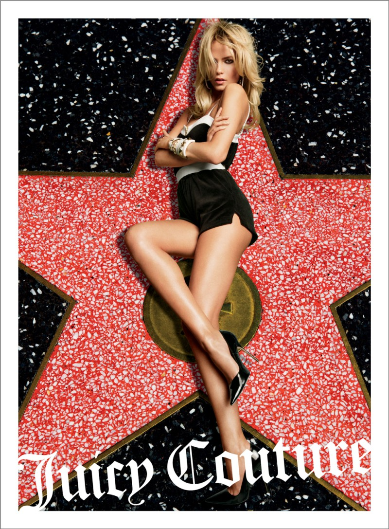 JuicySpring12 Candice Swanepoel, Natasha Poly and Isabeli Fontana Are California Pin ups for Juicy Coutures Spring 2013 Campaign