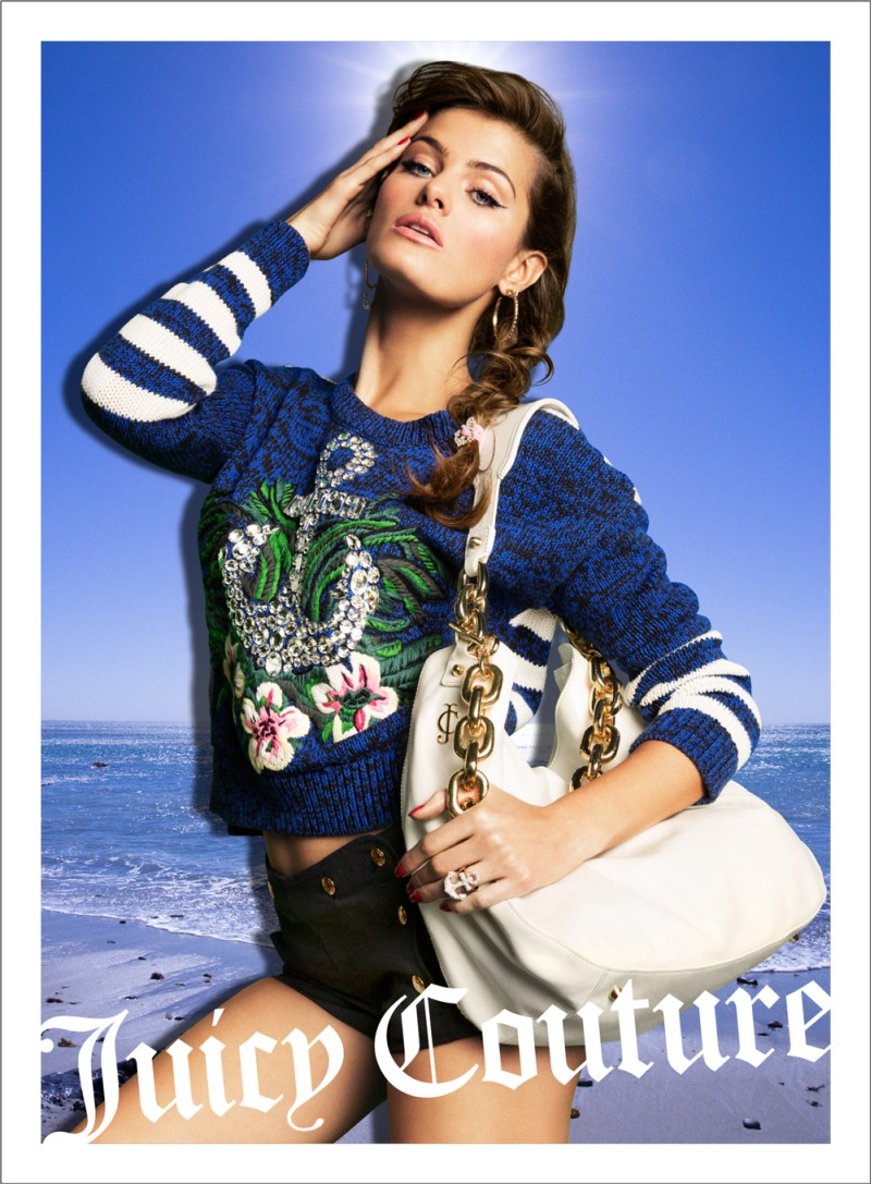 Candice Swanepoel, Natasha Poly and Isabeli Fontana Are California Pin-ups for Juicy Couture's Spring 2013 Campaign