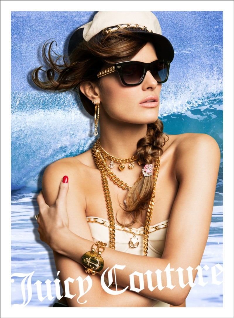 JuicySpring7 Candice Swanepoel, Natasha Poly and Isabeli Fontana Are California Pin ups for Juicy Coutures Spring 2013 Campaign