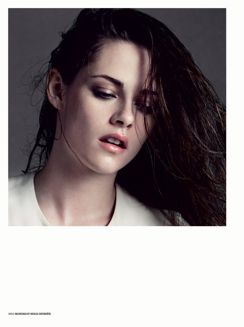 KristenStewartV3 Kristen Stewart Poses for Inez & Vinoodh in the Cover Shoot of V Magazine #81