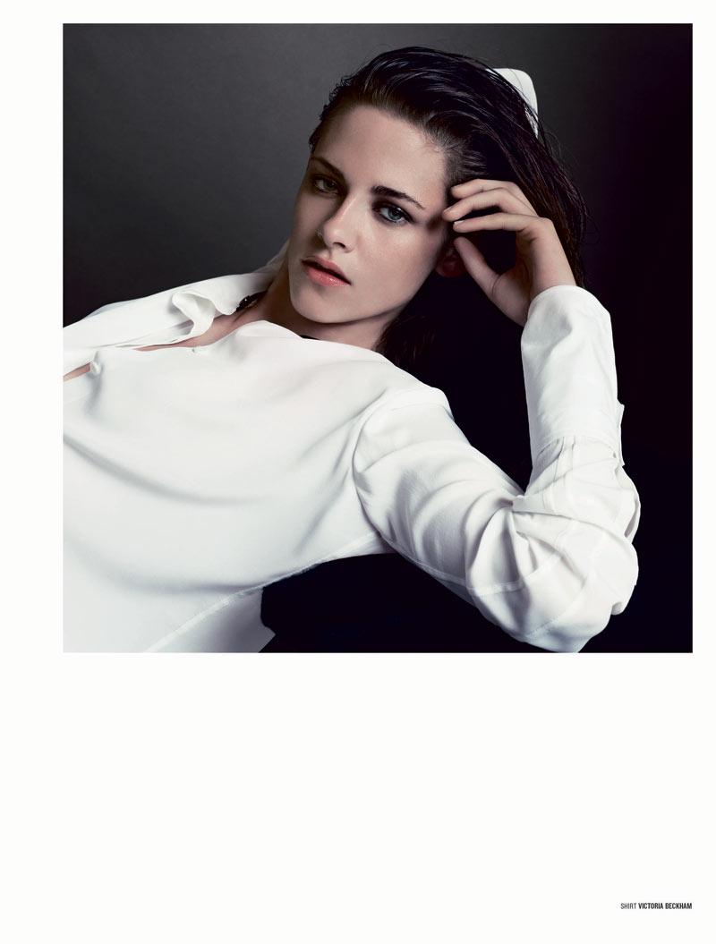 Kristen Stewart Poses for Inez & Vinoodh in the Cover Shoot of V Magazine #81