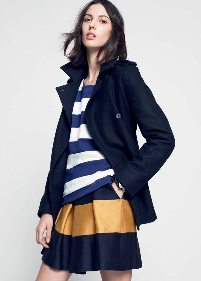 LACOSTE FW13 14 PRE FALL LOOK BOOK 10 Lacoste Taps Ruby Aldridge for its Pre Fall 2013 Collection
