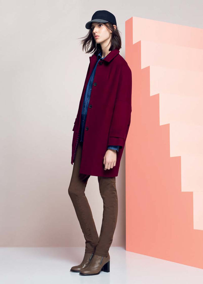 LACOSTE FW13 14 PRE FALL LOOK BOOK 11 Lacoste Taps Ruby Aldridge for its Pre Fall 2013 Collection