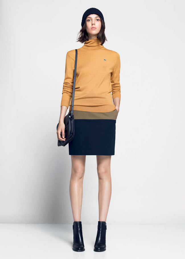 LACOSTE FW13 14 PRE FALL LOOK BOOK 12 Lacoste Taps Ruby Aldridge for its Pre Fall 2013 Collection