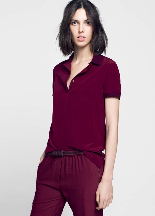LACOSTE FW13 14 PRE FALL LOOK BOOK 15 Lacoste Taps Ruby Aldridge for its Pre Fall 2013 Collection