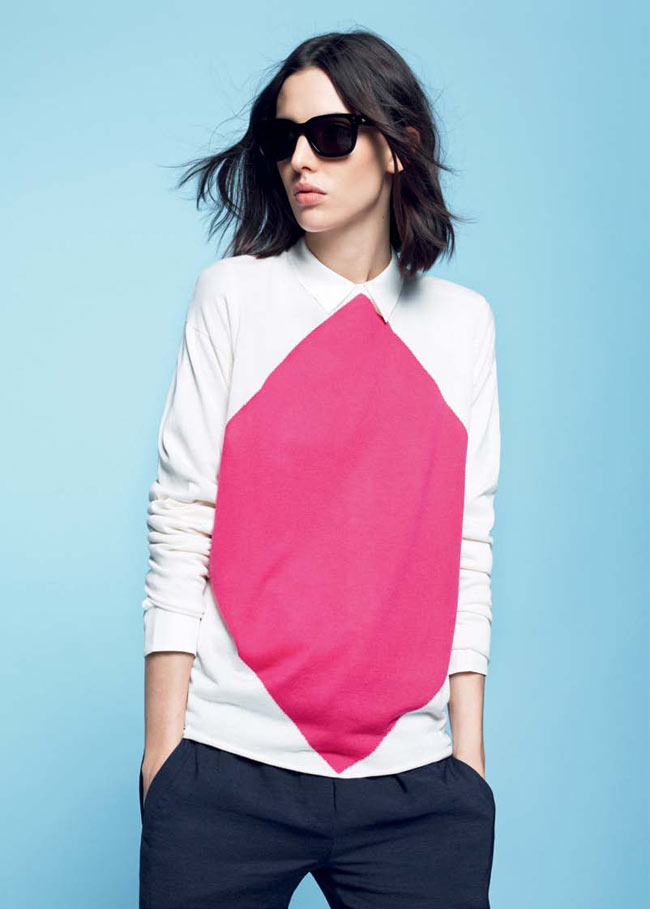 LACOSTE FW13 14 PRE FALL LOOK BOOK 17 Lacoste Taps Ruby Aldridge for its Pre Fall 2013 Collection