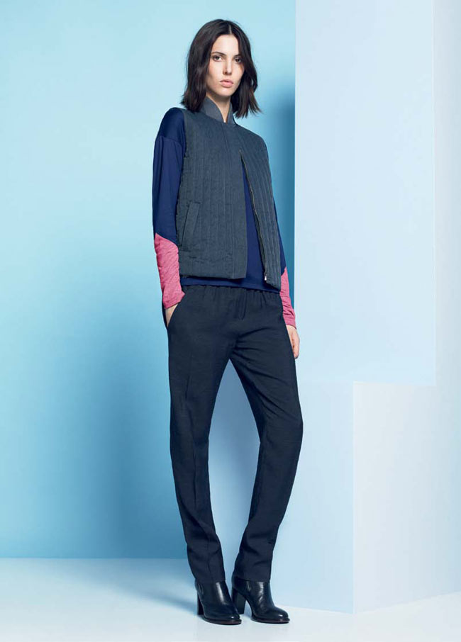 LACOSTE FW13 14 PRE FALL LOOK BOOK 18 Lacoste Taps Ruby Aldridge for its Pre Fall 2013 Collection