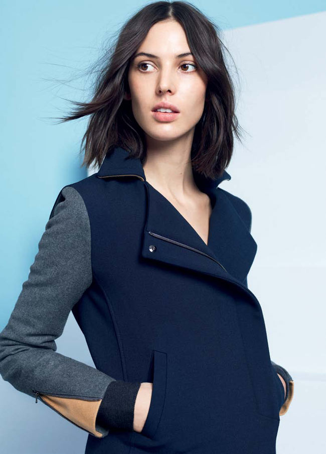 LACOSTE FW13 14 PRE FALL LOOK BOOK 20 Lacoste Taps Ruby Aldridge for its Pre Fall 2013 Collection