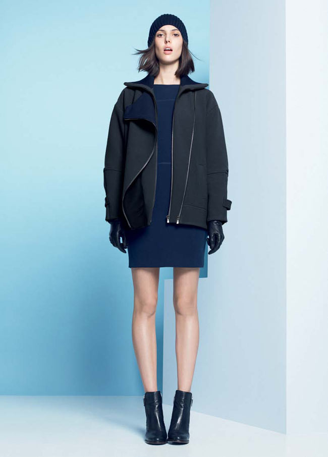 LACOSTE FW13 14 PRE FALL LOOK BOOK 21 Lacoste Taps Ruby Aldridge for its Pre Fall 2013 Collection