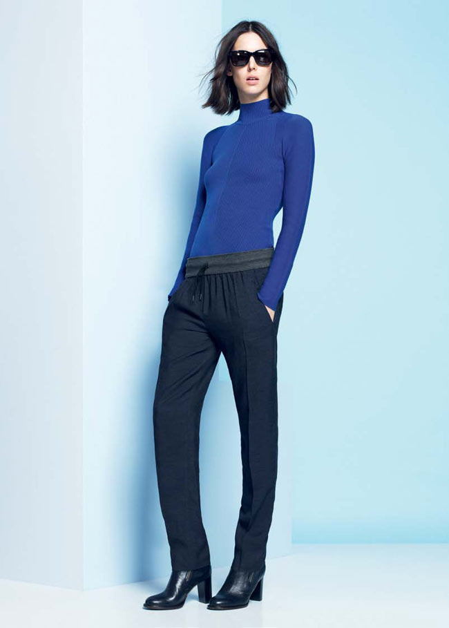 LACOSTE FW13 14 PRE FALL LOOK BOOK 23 Lacoste Taps Ruby Aldridge for its Pre Fall 2013 Collection