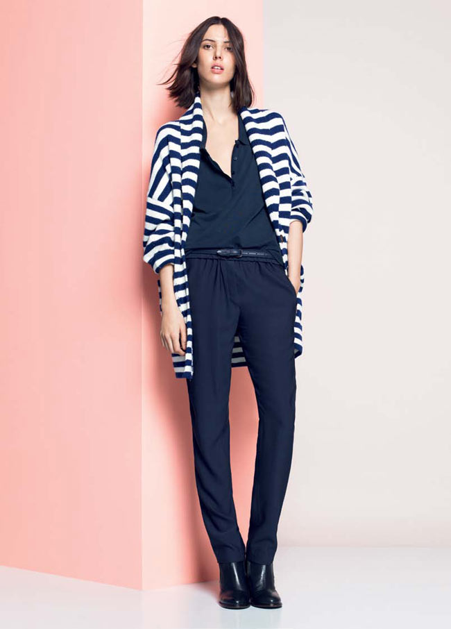 LACOSTE FW13 14 PRE FALL LOOK BOOK 4 Lacoste Taps Ruby Aldridge for its Pre Fall 2013 Collection