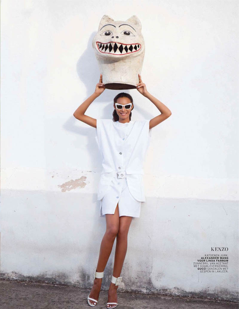 LaisLofficiel11 Lais Ribeiro Charms in Brazil for the February Issue of LOfficiel Netherlands