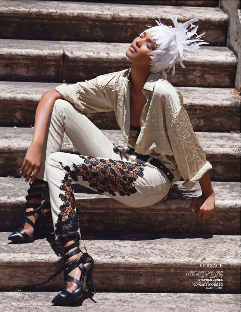 LaisLofficiel12 Lais Ribeiro Charms in Brazil for the February Issue of LOfficiel Netherlands