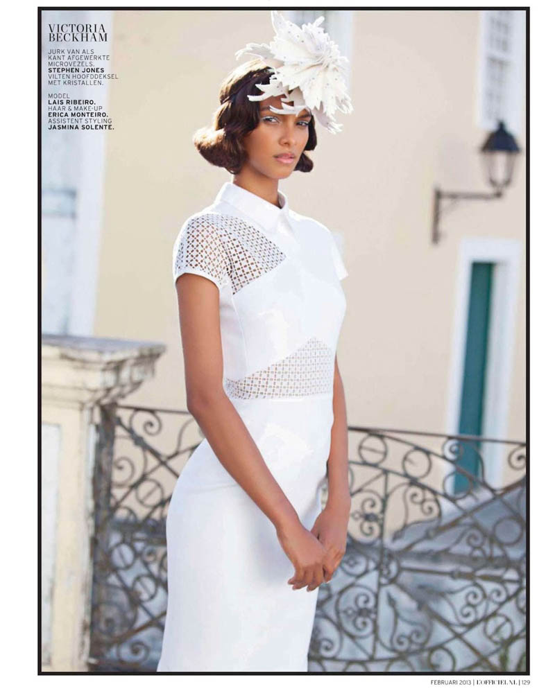 LaisLofficiel13 Lais Ribeiro Charms in Brazil for the February Issue of LOfficiel Netherlands