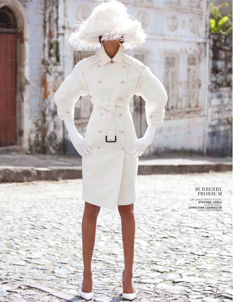 LaisLofficiel4 Lais Ribeiro Charms in Brazil for the February Issue of LOfficiel Netherlands