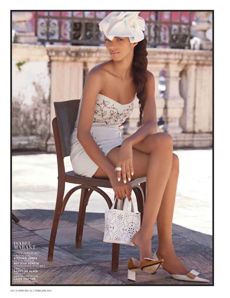 LaisLofficiel6 Lais Ribeiro Charms in Brazil for the February Issue of LOfficiel Netherlands