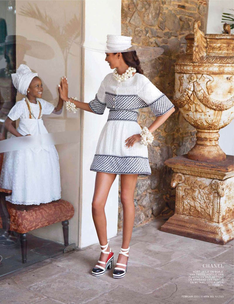 LaisLofficiel7 Lais Ribeiro Charms in Brazil for the February Issue of LOfficiel Netherlands