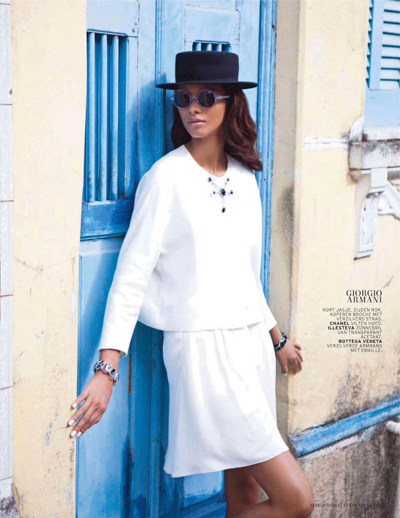 LaisLofficiel9 Lais Ribeiro Charms in Brazil for the February Issue of LOfficiel Netherlands