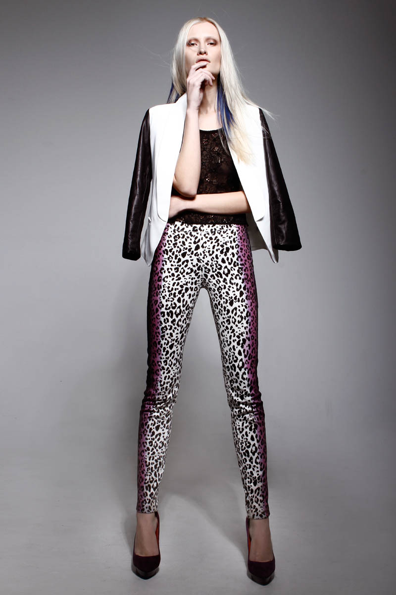 LeilaShams1 Leila Shams Ultra Cool and Modern Pre Fall 2013 Collection