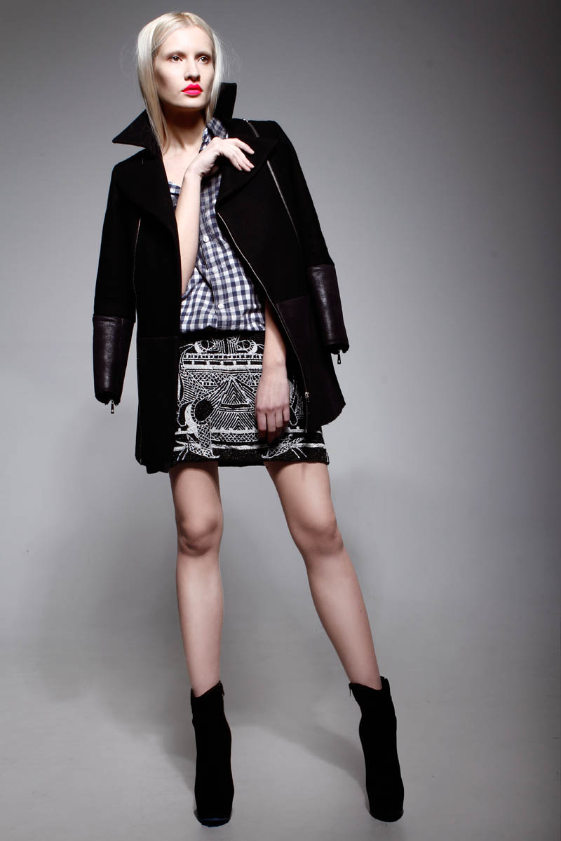 LeilaShams12 Leila Shams Ultra Cool and Modern Pre Fall 2013 Collection