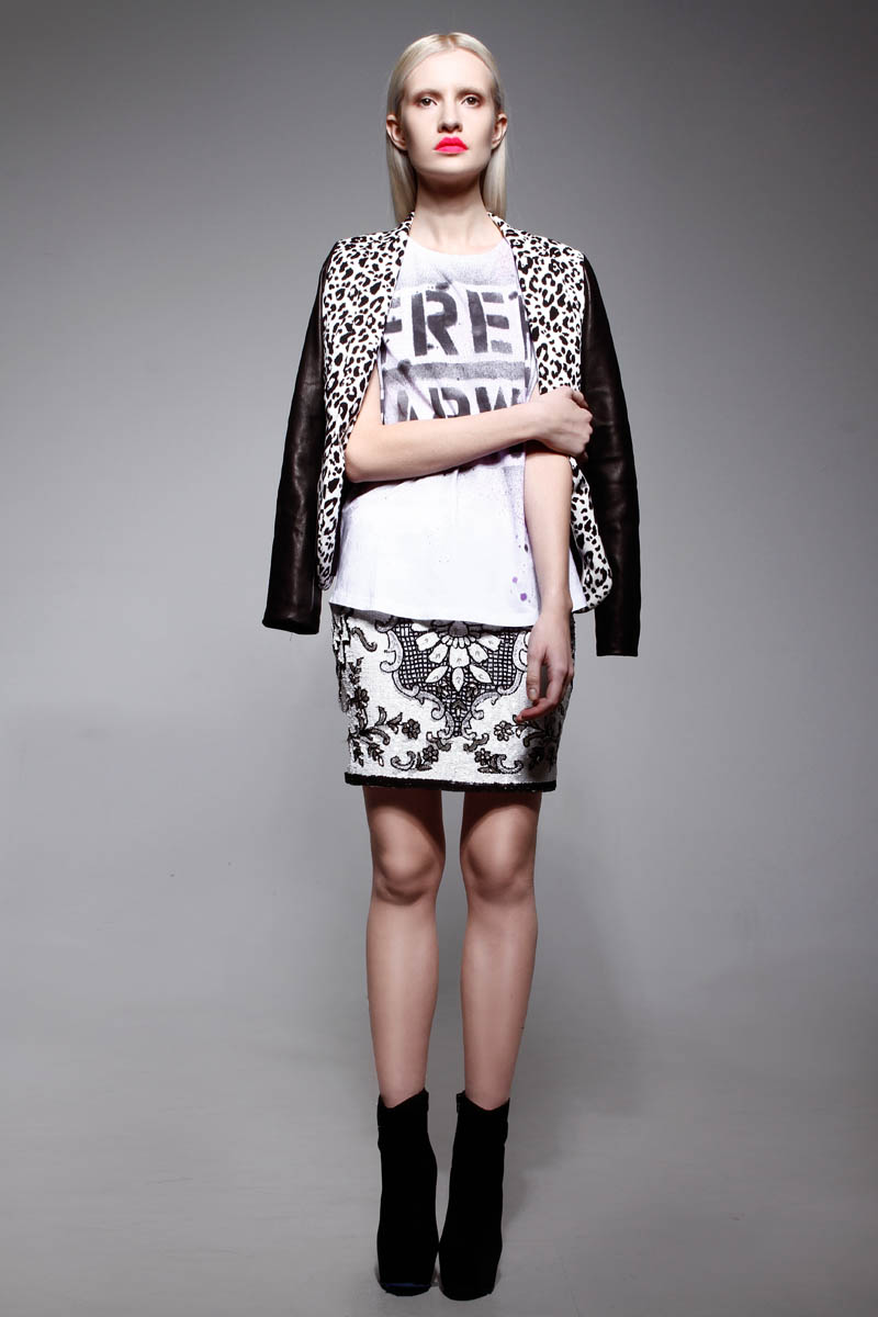 LeilaShams13 Leila Shams Ultra Cool and Modern Pre Fall 2013 Collection